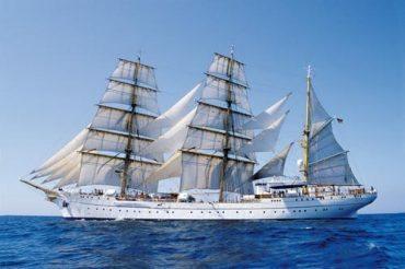 Grand voilier allemand en visite à Portimão