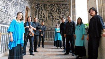 Ensemble de musique mexicaine en tournée au Portugal