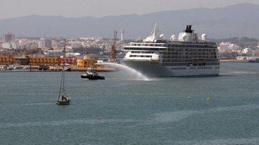 Escales de navires de croisière à Portimão