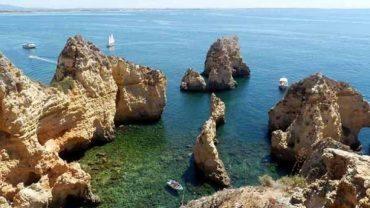 Ponta da Piedade: Probablement la plus belle plage au monde