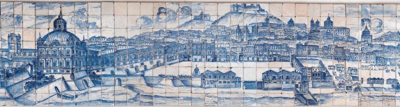 Grande Panorama de Lisboa, c. 1700