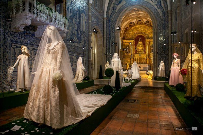 Robes de Mariées Inoubliables – Exposition au Palais de Cadaval à Évora