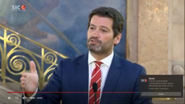 Le député de Chega André Ventura formellement accusé de désobéissance