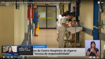 Les infirmières de l'Algarve épuisées avertissent : «nous ferons des erreurs…»