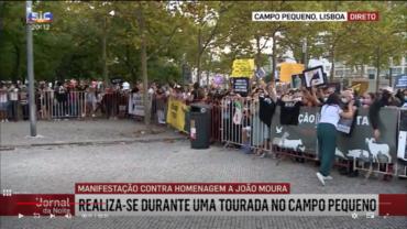 Plus de 1 000 personnes à Lisbonne pour protester contre le torero qui a laissé 18 lévriers mourir de faim