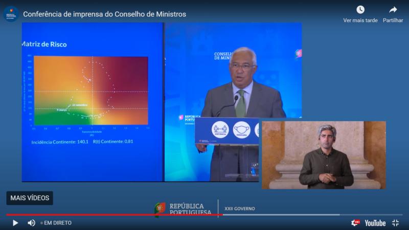 Le Premier ministre Costa trace la voie du Portugal vers la « liberté » dans un nouvel « état d'alerte »