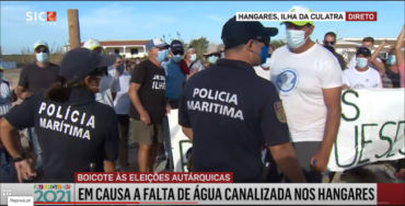 Manifestation en Algarve alors que le Portugal se rend aux urnes pour la première fois depuis la pandémie