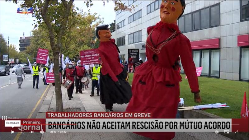Les employés de banque font grève pour la première fois en 33 ans