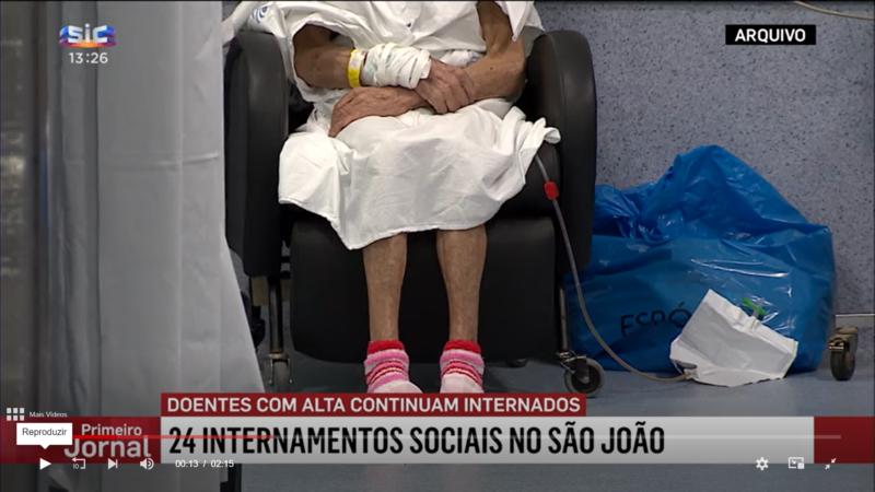 «Bloqueurs de lits»: une autre inquiétude croissante pour les hôpitaux portugais