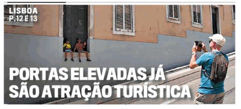 Lisbonne vient de se doter d'une nouvelle attraction touristique « pour de mauvaises raisons…»