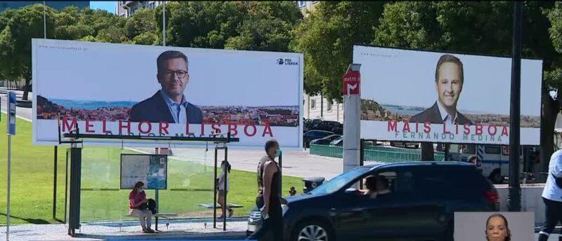 Elections municipales à la sortie des urnes : Lisbonne « trop proche pour appeler »