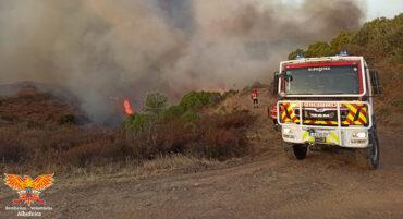 L'incendie de forêt de Castro Marim « repris sous contrôle » après 40 heures d'« enfer ».