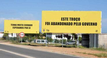 La décision de justice continue de retarder les travaux routiers EN125 entre Olhão et Villa Real de Santo Antonio