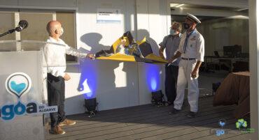 Nouveau centre nautique inauguré à Praia da Angrinha de Ferragudo