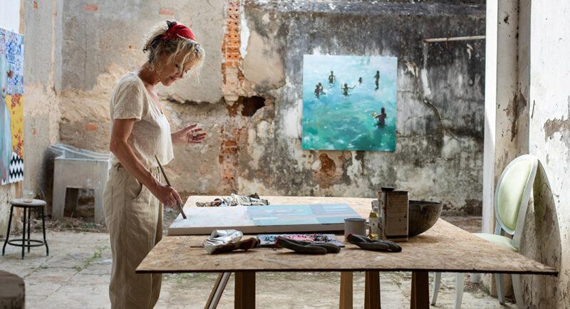 Fresco Gallery célèbre la carrière du peintre Meinke Flesseman