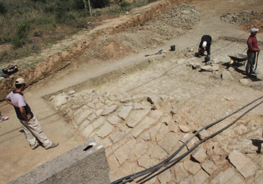 Algarve: Site archéologique découvert près de l'École Internationale de Lagôa