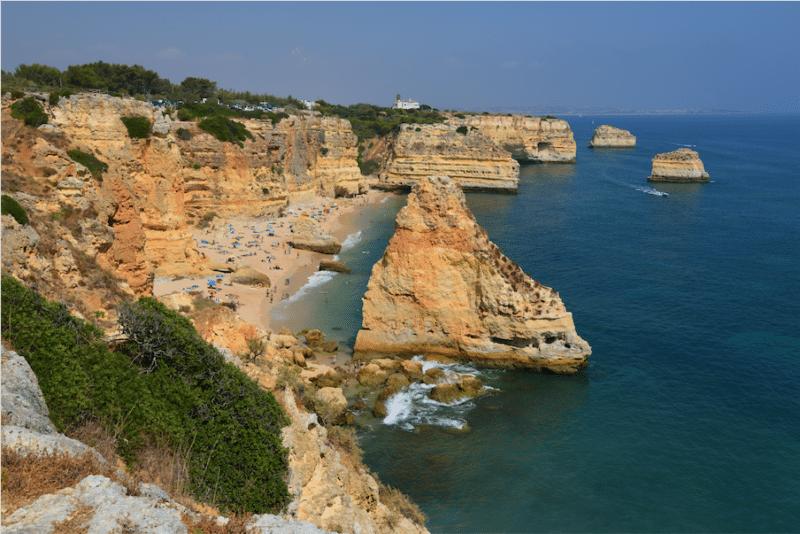 Les falaises de l'Algarve vont être confortées