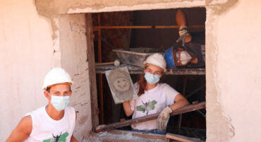 «Juste un changement»: de jeunes bénévoles aident à reconstruire et à rénover 15 maisons délabrées en Algarve
