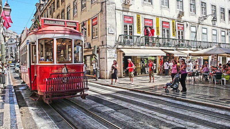 Lisboa touristes