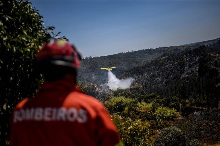 Incendie d'Odemira : « D'excellentes performances » des pompiers ont empêché les flammes de se propager davantage