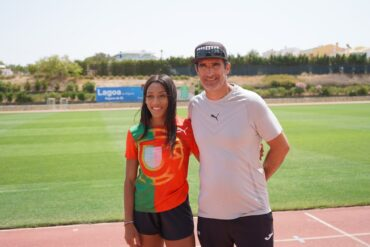 La médaillée olympique Patrícia Mamona choisit Lagoa comme centre d'entraînement