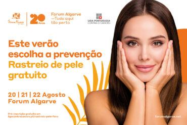 Dépistages gratuits du cancer de la peau au Forum Algarve ce week-end