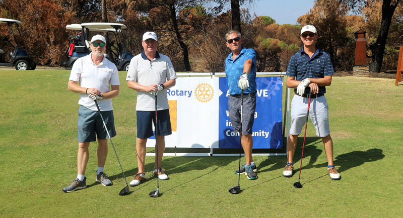 Tournoi de golf caritatif Estoi Palace Rotary 2021