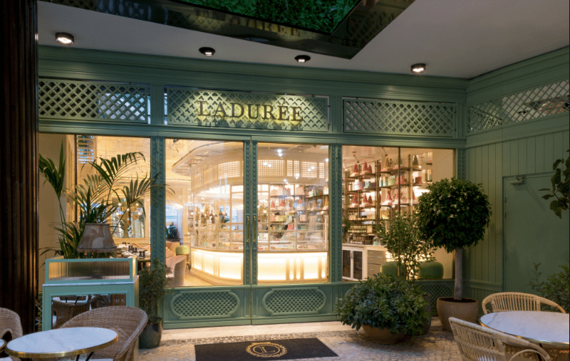 Ladurée ouvre un salon de thé à Lisbonne
