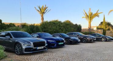 Tour de trente super voitures de sport sur la Costa del Sol et l'Algarve