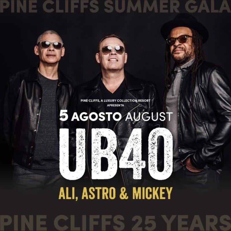 Les légendes du reggae UB40 joueront au Pine Cliffs Summer Gala
