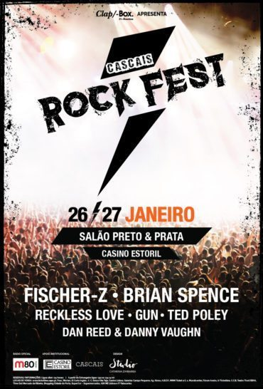 Cascais Rock Fest :: 26 et 27 janvier au Casino d'Estoril