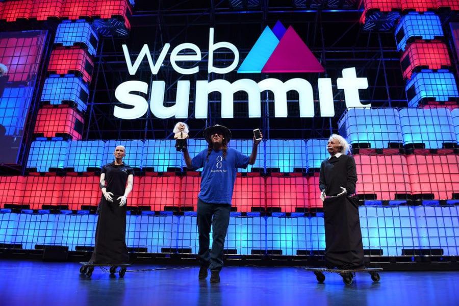 Du beau monde pour la clôture du Web Summit à Lisbonne