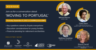 Le webinaire «S'installer au Portugal» aura lieu ce jeudi