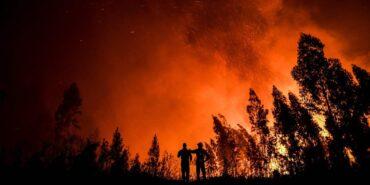 L'incendie de Castro Marim continue de faire rage : 9 000 hectares détruits ;  81 personnes et 200 animaux évacués