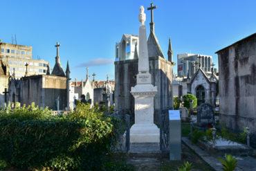 La Mairie de Porto restaure le tombeau de Chardron