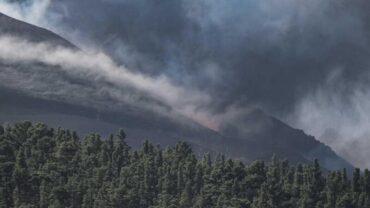 «Réduction significative de la visibilité horizontale» aux Açores alors que le nuage de cendres du volcan La Palma arrive