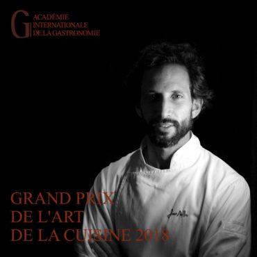Le chef portugais José Avillez reçoit « l'Oscar de la gastronomie »